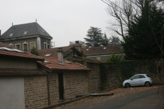 L'ancien domaine Bullukian à l'arrière plan