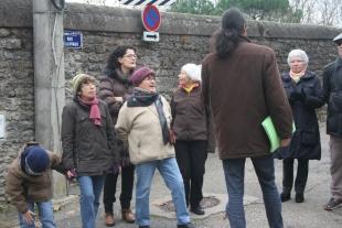A la croisée des rues Dellevaux et Dominique Vincent